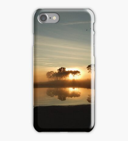 Fog in Boggabri iPhone Case/Skin