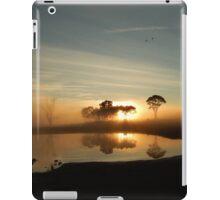 Fog in Boggabri iPad Case/Skin