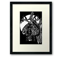 Crow Knight Framed Print