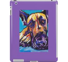 Great Dane Dog Bright colorful pop dog art iPad Case/Skin