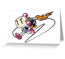 Bobomberman Greeting Card