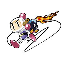 Bobomberman Photographic Print