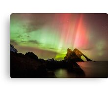 Northern Lights with Bow Fiddle Canvas Print