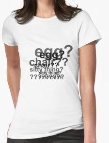 Sherlock is Deaded Womens Fitted T-Shirt