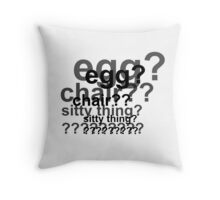 Sherlock is Deaded Throw Pillow