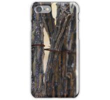 Stick Fence iPhone Case/Skin