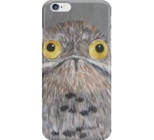 Bird Portrait - Common Potoo iPhone Case/Skin