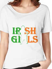 Irish Girls St Pats Day Women's Relaxed Fit T-Shirt