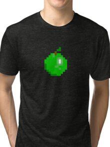 Apple Design - Pixel Fruit Range  Tri-blend T-Shirt