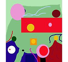 Crazy abstract design by Moma Photographic Print
