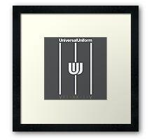 Universal Uniform - Stripes Framed Print