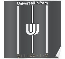 Universal Uniform - Stripes Poster