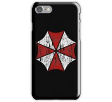 Umbrella Corp Grunge iPhone Case/Skin