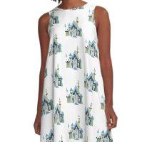 Medieval Castle A-Line Dress