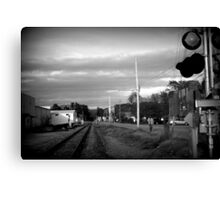 Lone Journey Canvas Print