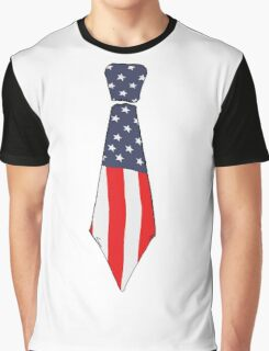 Old glory tie Graphic T-Shirt