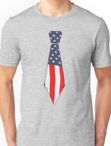 Old glory tie Unisex T-Shirt