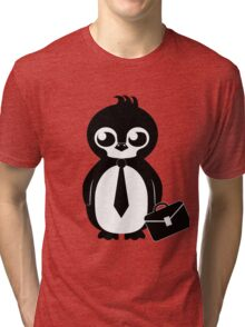 Business Penguin Tri-blend T-Shirt
