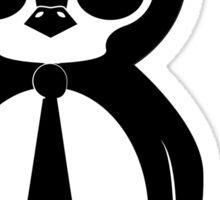 Business Penguin Sticker