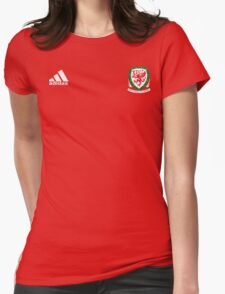 WALES Dream Team EURO 2016 Womens Fitted T-Shirt