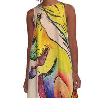 Squirrel A-Line Dress
