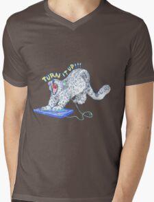 Turn it up!!! Mens V-Neck T-Shirt