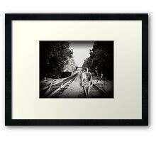 Train Dance Framed Print