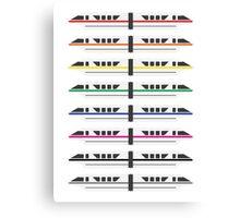 Monorails Canvas Print