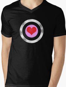 T-shirt Robert Downey Jr. Heart Mens V-Neck T-Shirt