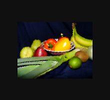 Fruits And Veggies Indented Unisex T-Shirt