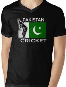 Pakistan Cricket Mens V-Neck T-Shirt