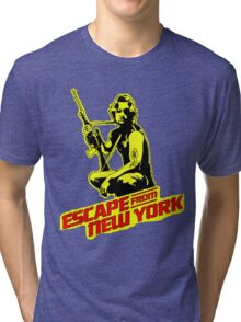 Snake Plissken (Escape from New York) Colour Tri-blend T-Shirt