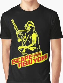 Snake Plissken (Escape from New York) Colour Graphic T-Shirt