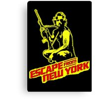 Snake Plissken (Escape from New York) Colour Canvas Print