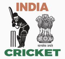 India Cricket One Piece - Short Sleeve