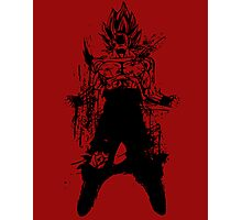 Saiyan Power up Photographic Print
