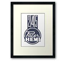 Valiant Pacer 245 Hemi Framed Print