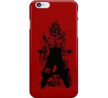 Saiyan Power up iPhone Case/Skin