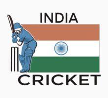 India Cricket One Piece - Long Sleeve