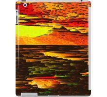 Picture 2015066 Justin Beck Mountain Sunset iPad Case/Skin