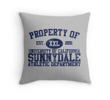 UC Sunnydale Athletic Department Throw Pillow