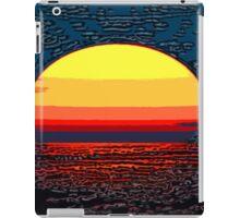 Picture 2015064 Justin Beck setting sun iPad Case/Skin