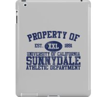 UC Sunnydale Athletic Department iPad Case/Skin