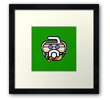 Hurry Garcia (Jerry) Curling Rockers Framed Print