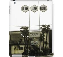 Motel - No Vacancy! One Night Stand Discount Available iPad Case/Skin