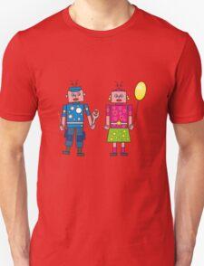 Roboter Liebe Unisex T-Shirt