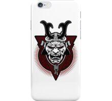 Samurai - Live by the Sword iPhone Case/Skin