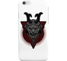 Samurai - Live by the Sword- Grey Version iPhone Case/Skin