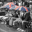 Great Britain In The Rain by Graham Ettridge