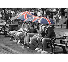 Great Britain In The Rain Photographic Print